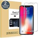 EasyULT Panzerglas für iPhone X/XS [2 Stück], Volle Deckung Schutzfolie Displayschutz Folie Screen...