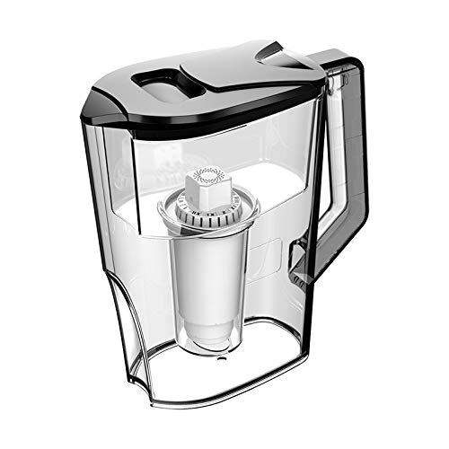 Facibom 2.5L Household Water Purifier Alkaline Filter Kettle Kitchen Water Purification Filter (with Filter) -Black