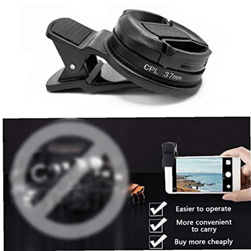 BYFRI Telefon Professionelle Weitwinkel Polfilter Circular Portable Zubehör Durable Clip Schwarz-objektiv Universal Cpl Filter