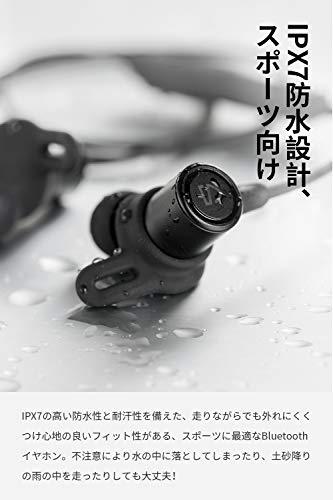 【aptXHD&AAC対応】SOUNDPEATSQ30HDBluetoothイヤホン14時間連続再生高音質ワイヤレスイヤホンIPX7防水スポーツイヤホンQCC3034チップセット採用CVC8.0ノイズキャンセリング搭載ブルートゥースイヤホンサウンドピーツBluetoothヘッドホン[IPX7防水証書取得済、メーカー1年保証](ブラック)