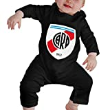 EJUNLEKEJI Traje de bebé Larga Baby Romper River Plate FC Unique Design Newborn...