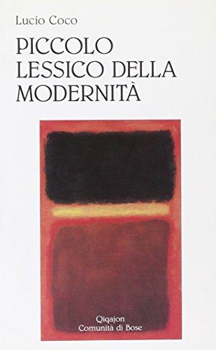 Piccolo lessico della modernità