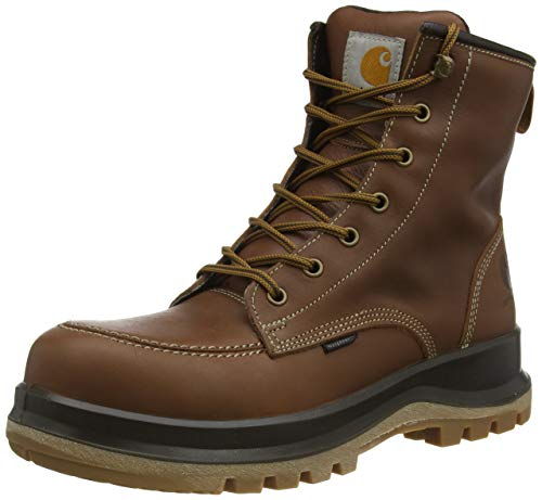 Carhartt Herren Hamilton Rugged Flex Waterproof S3 Safety Boot Construction Shoe, Tan, 47 EU