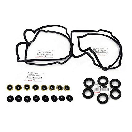 Valve Cover Washers Gaskets & Spark Plug Tube Seals 5VZFE 3.4L Engine Spare Parts for Toyota