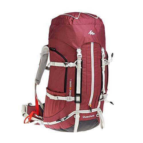 50L Outdoor Waterdichte Ademende Sport Rugzak Reizen Wandelen Camping Rugzak Fietstas Met regenhoes voor Camping Trekking Rugzak