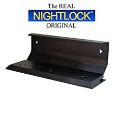 """""""Don't stay home without it!"""" Simple, Strong, Effective, Inexpensive, Easy to Use! Easy installation! Minimal tools to install - drill, bit, and screwdriver! Made of Solid Aluminum with Anodized Finish! Base plate height of 7/16"""" Requires at least a ..."""