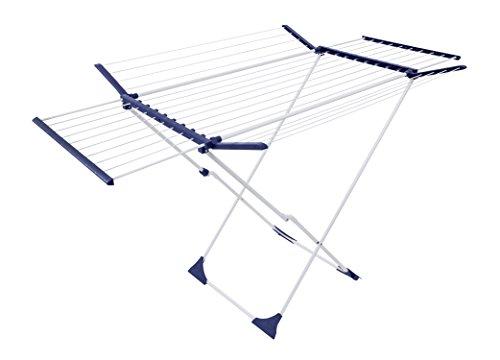 26 m Teleskop Wäscheständer Flügelwäscheständer Flügelwäschetrockner Wäschetrockner Jumbo XXL
