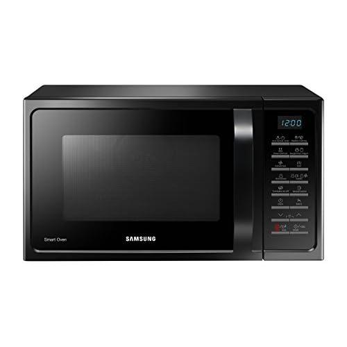 Samsung MC28H5015CK Forno Microonde Grill Combinato, 28 Litri, 900 W, Grill 1500 W, con Piatto Doratore, 51.7 x 31 x 47.6 cm, Nero