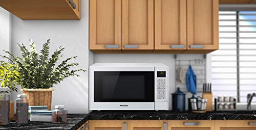 Panasonic NN-CT57JMBPQ Slimline Combination Microwave Oven with Turntable, 1000 W, 27 Litres, Silver