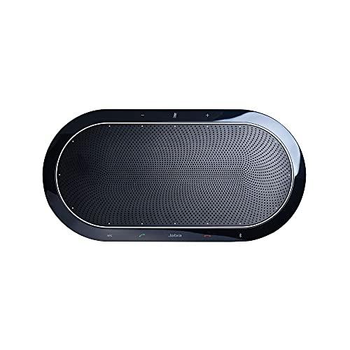 Jabra Speak 810 Konferenzlautsprecher – Microsoft-zertifizierter Lautsprecher für große Meetings mit Bluetooth-Adapter und integriertem USB-A-Kabel – Verbindung mit Laptops, Smartphones und Tablets