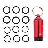 Toygogo Taucherei Tauchei Aufbewahrungsbox Drybox Trocken-Behälter mit O-Ringe - Rot