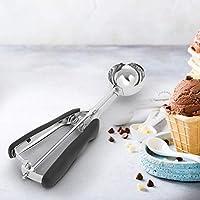 【クリスマスギフト】アイスクリームスプーン、家庭用304ステンレス鋼のアイスクリームスプーンクッキースクープクリームディッパーキッチン用品