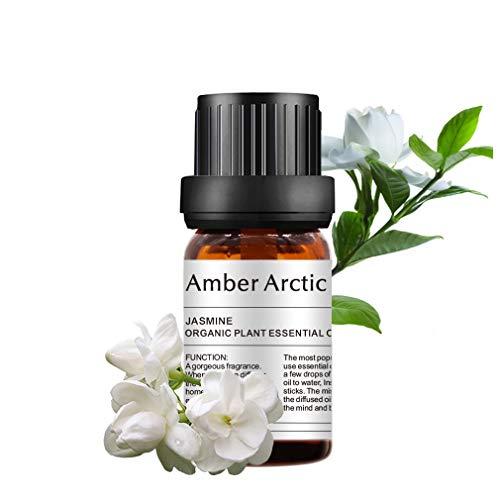 Olio essenziale di gelsomino - 100% puro olio di grado terapeutico migliore, oli aromatici naturali di gelsomino per diffusore (10 ml)