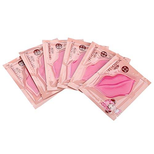 15pz Maschera per la cura delle labbra al collagene Crystal Idratante idratante naturale idratante adatto per uso domestico (2#)