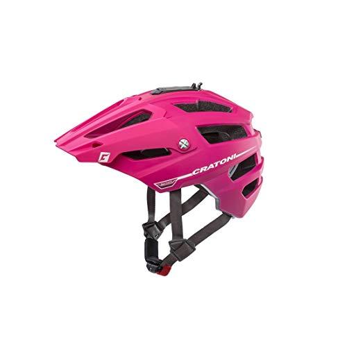 Cratoni AllTrack (MTB) Casco de Bicicleta, Mujer, Rosa, Talla única