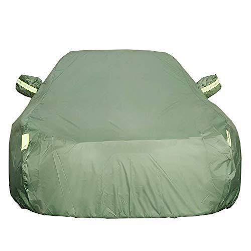 Jaxonn Home Copriauto Telo Copriauto, Compatibile con Audi A1 / A4 / A6 / A8, all Weather Protezione Impermeabile/Scratch Resistant/Protezione UV/Riflettente Stripes Traspirante