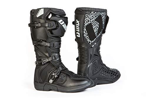 iMX Racing X-TWO Botas de moto Motocross Enduro Negro...