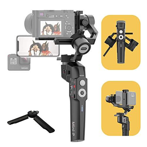 MOZA Mini P Gimbal Stabilizzatore a 3 assi Fino a 1,98 libbre per smartphone Action Camera Fotocamere compatte Fotocamere mirrorless leggere