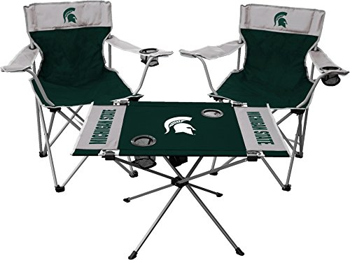 Jarden Sports Licensing NCAA Michigan State Spartans Tailgate Kit, Team Color, One Size