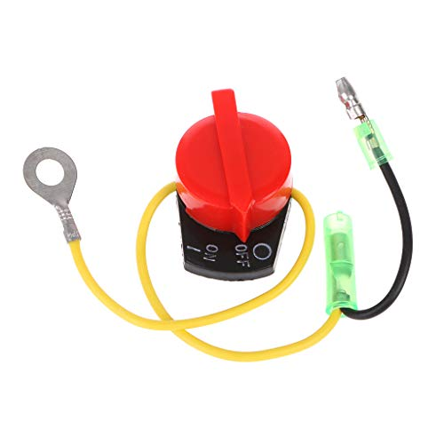 Folewr Control de interruptor de encendido y apagado de potencia del motor compatible con 5X -Honda GX110 GX120 GX160 GX200 GX240