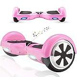 RangerBoard Hoverboard Enfant - 6,5' - Bluetooth - LED Coloré - Self Balancing Board Adulte - 700W - Smart Scooter Deux Roues - Skate Électrique Cadeaux Pas Cher - Certifié CE UL2272 - Rose
