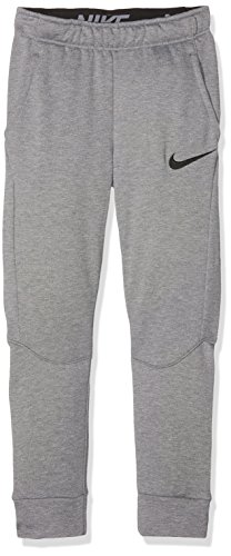 Nike B NK Dry Taper FLC Hose Trainingsanzug, Kinder XL grau / (Carbon Heather/schwarz)