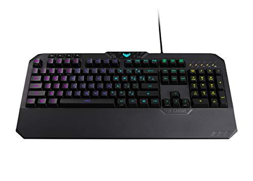 Asus Tuf K5 Keyboard Wired, Black,