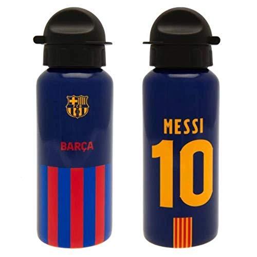 FCB Botellin de Aluminio Messi. Producto Oficial FC Barcelona.