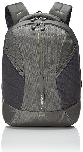 Samsonite 4mation Backpack S Mochila Tipo Casual, 21 litros, Oliva/Amarillo, 39 cm