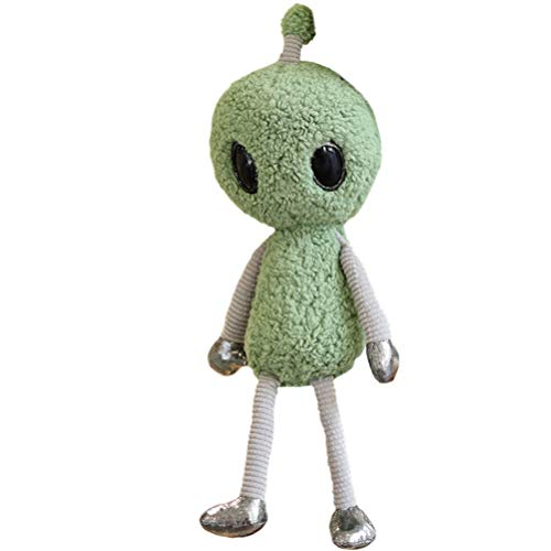 Freshwater Cute Alien Plush Toys Science Fiction Movie Figure Alien with Antenna Stuffed Educational Dolls Birthday Gifts
