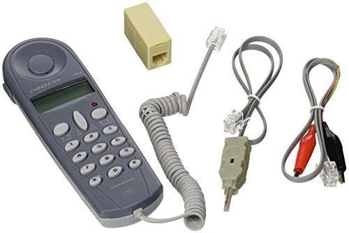 Telecom Check Telefon Line dedicated Check Line Messline Maschine Chino-E C019 Tester to Alligator Clip Set Equipment