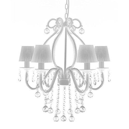 vidaXL Lampadario con 6 Paralumi Illuminazione Ingresso Luce Lampada Sospesa