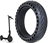 ✪ [ELASTICITÀ E FLESSIBILITÀ] Il design del pneumatico solido è stato studiato per consentire flessibilità. Il pneumatico può essere allungato, ma tornerà sempre alla sua forma originale. La sua memoria tampone consente di recuperare la sua forma in ...