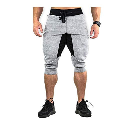 N\P Pantalones casuales para hombre Pantalones cortos - gris - X-Large
