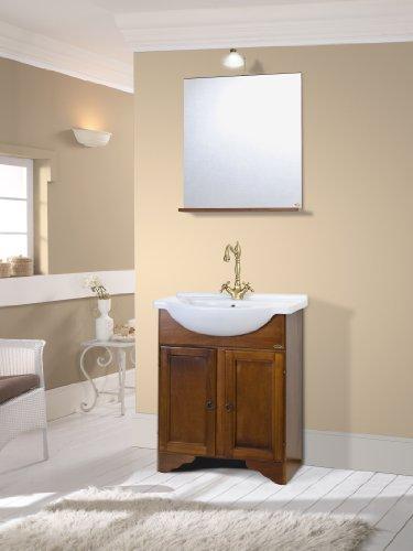 mobile bagno arte povera Mobile da bagno classico in legno con lavabo arte povera