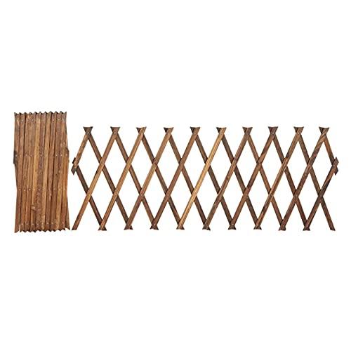 3 Stück Holzgitter-Wand-Pflanzgefäß, Garten-Rankgitter, erweiterbare Pflanzen-Unterstützung, Gitter-Zaun-Panel mit verstellbarer Breite, Pflanzenkletter-Hängerahmen für...