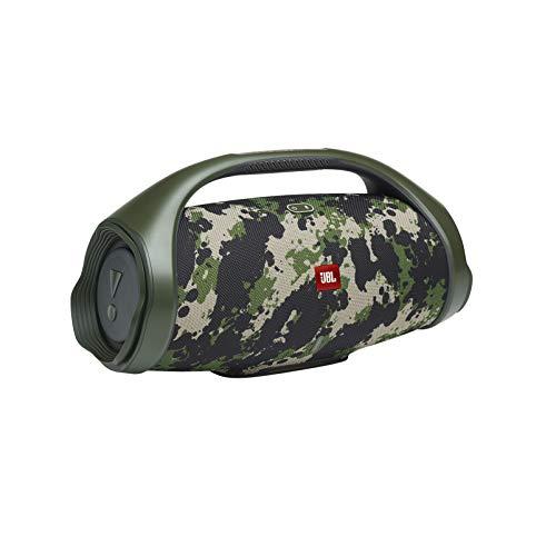JBL Boombox 2 in Camouflage – Wasserdichter Bluetooth-Lautsprecher mit Indoor- und Outdoor-Modus – Bis zu 24 Stunden Musikgenuss mit nur einer Akku-Ladung – Bluetooth 5.1