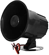 XINFLY Wired Alarm Siren Horn 1-tone 15W DC 12V Outdoor with Bracket for Home Security Protection System