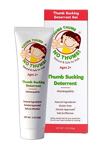 Thumb Thumb NO Thumb Natural Dentist Approved Thumb Sucking Deterrent for Kids