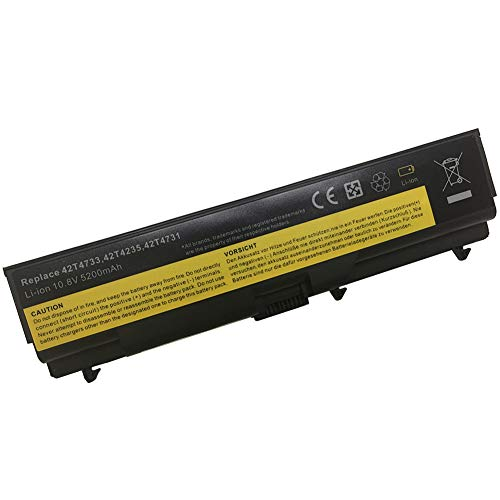 XITAIAN 10.8V 5200mAh 42T4733 Replacement Laptop Battery for IBM Lenovo ThinkPad e40 T410 T420 T510 T520 SL410 42T4752 6 Cell