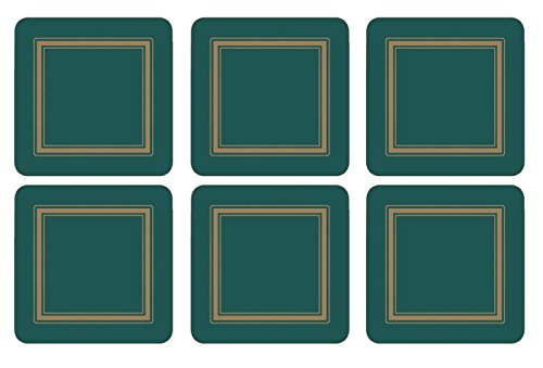 Pimpernel Classic Emerald Untersetzer 6 Stück (s)