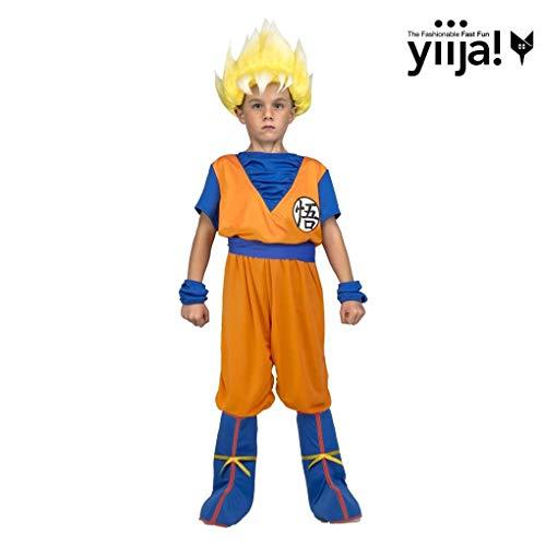My Other Me Me saiyan Goku Dragon Ball costume, Multicolore (231320)