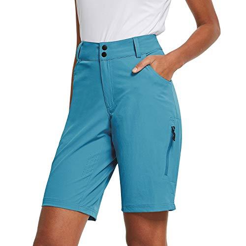BALEAF Women's Mountain Bike MTB Shorts Blue Size XL