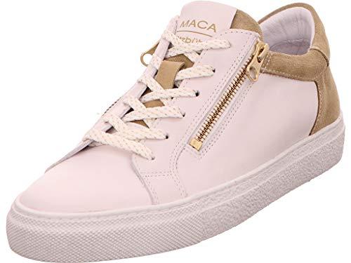 Maca Kitzbühel Damen Sneaker 2430 White Silver weiß 618580