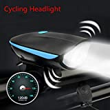 FASTPED Bike Horn and Light 140 DB with Light 3 Modes Super Bright