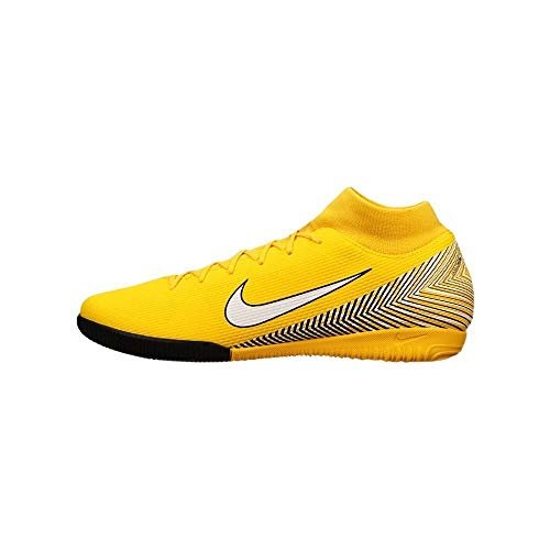 Nike Superfly 6 Academy NJR IC, Zapatillas Unisex Adulto, Multicolor (Amarillo/White/Black 001), 40 EU
