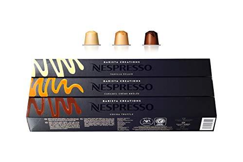 Nespresso OriginalLine: Barista Creations Pack, 30 Capsules