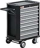 BGS 4100 | Werkstattwagen | 8 Schubladen | leer | abschließbar | massives Metall