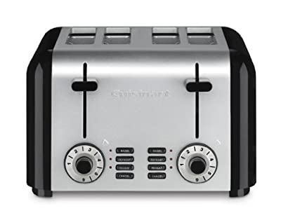 Cuisinart Toaster, 4-Slice, Brushed Stainless