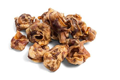 Bonya Smile Schweineknochen 1kg, Snack Hunde Geschenk Haustier Pet gesundes Schweineohrmuscheln Natürlich